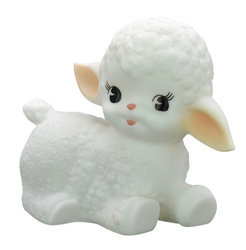 Nightlight Wooly Lamb white