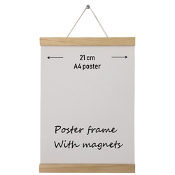 Poster frame hout A4