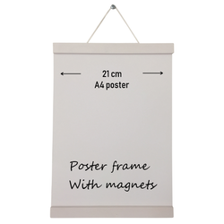 Poster frame wit A4