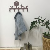 forest friends bark coatrack